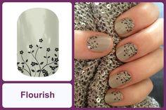 FLOURISH Jamberry Nail Wrap #flourishjn