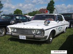 Plymouth Belvedere Police Car