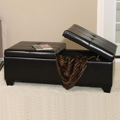 Coffee Tables On Pinterest Ottomans Trays And Storage