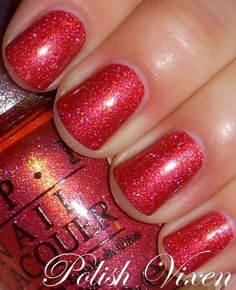 OPI DS Reflection...the PERFECT polish for the holiday season!