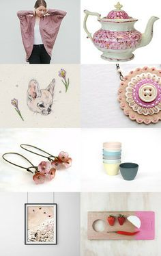Antique Pink  by mira (pinki) krispil on Etsy--Pinned with TreasuryPin.com