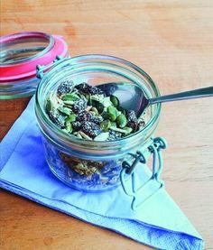Tasty low-histamine & glutenfree buckwheat granola
