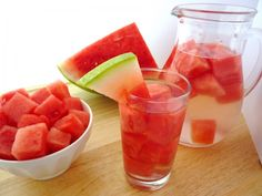 Watermelon Detox Water Infused waters from Green Blender