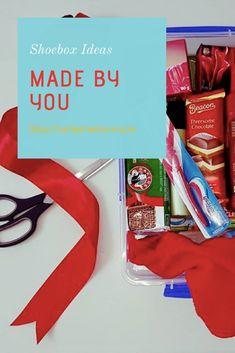 How to pack a Santa Shoebox Christmas Child Shoebox Ideas, Operation Christmas Child Shoebox, Teen Boys, Shoe Box, Charity, Santa, Packing, Children, Handmade Gifts