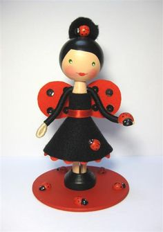 Custom Lady Bug Dolly (sold) | Flickr - Photo Sharing!