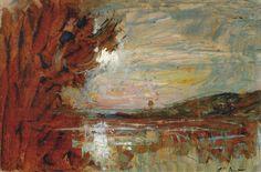 Tutt'Art@ | Pittura * Scultura * Poesia * Musica |: François-Auguste Ravier | Romantic landscape paint...