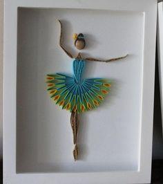 20 Magnifiques modèles de Ballerines en paperolles! Le Quilling! - Bricolages - Trucs et Bricolages