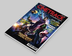 """Check out new work on my @Behance portfolio: """"""""CINETRACK"""" Movie and Music…"""
