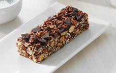 Sweet and salty flavor plus ALA omega-3 from chia make up one deliciously nutritious, chewy granola bar.