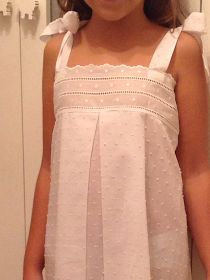 Clothing Patterns, Dress Patterns, Cotton Nighties, Nightgown Pattern, Traditional Fashion, Clothes Crafts, Night Gown, Baby Dress, Ideias Fashion
