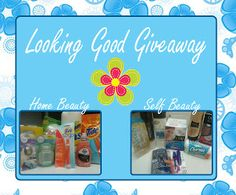 You Brew My Tea: Proctor & Gamble Looking Good Giveaway