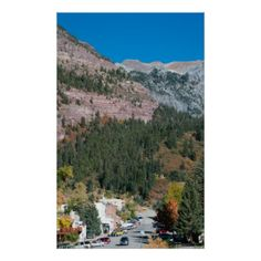 Ouray in Early Autumn Poster