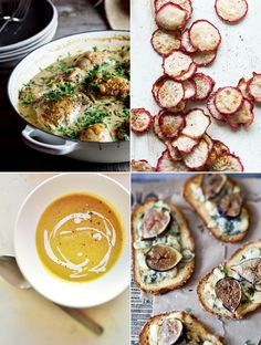 FOUR RECIPES I WANT TO TRY