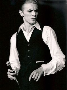 "vezzipuss.tumblr.com — David Bowie, ""Isolar 1"", Circa 76 〰️〰️"