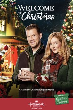 """Its a Wonderful Movie - Your Guide to Family and Christmas Movies on TV: Welcome to Christmas - a Hallmark Channel """"Countdown to Christmas"""" Movie starring Eric Mabius & Jennifer Finnigan! Hallmark Channel, Películas Hallmark, Films Hallmark, Welcome To Christmas, Family Christmas Movies, Hallmark Christmas Movies, Holiday Movies, Father Christmas, Christmas Christmas"""