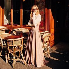 """Amazing 🌸 via @forte_forte: """"romantic @frecklesnur wearing forte_forte cipria dress during last paris week.  #love #style #instagood #streetstyle #girl #model #picoftheday #fashion #instalike #blogger #fashionista #instamood #instadaily #streetlook #streetfashion #instafashion  #blogger #streetphotography  #qdresscode #lifestyle #instaday #instacool #cool #photooftheday  #beautiful #amazing #beauty #bestoftheday  #instalove #ootd"""