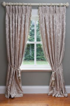 Luxurious Ready Made French Pleat Curtains With Superior Fleece
