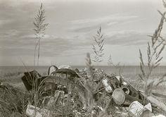 В дюнах. Лето. 1984. - Фотограф Александр Слюсарев