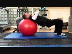 Great Running Strength Exercise:  Stability Ball Hip Raise