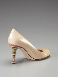 7bb336f9c912 kate spade karolina pump  179 on gilt - love the rainbow heel! Rainbow Heels