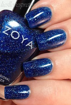 Zoya Dream - Like looking at a starry sky. Beautiful - and I'm not a blue person.