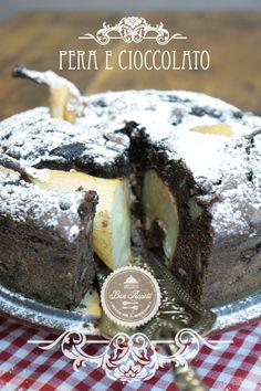 Torta cioccolata e pere in casseruola