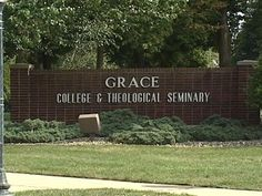 Grace College!  Mike's alma mater and where Luke attends!
