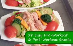 58 Easy Pre-Workout and Post-Workout Snacks - EAT CLEAN!!