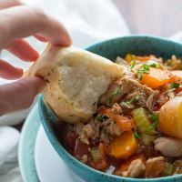 Slow Cooker Mexican Chicken Stew | Sweet Peas and Saffron