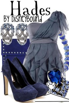Disney Fashion, DisneyBound, Hades, Hercules