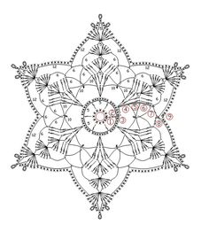 FREE DIAGRAM ~ snowflake