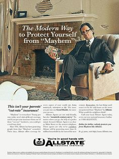 """Allstate ad retrofitted to celebrate the return of """"Mad Men"""" - awesome!"""