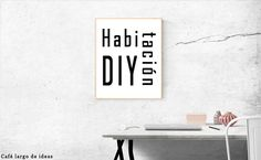 4 DIY para decorar tu habitación | Café largo de ideas - Decoración, reciclaje, DIY, blogging