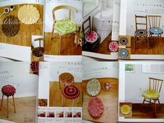 CROCHET CUSHIONS n3352 Japanese Crochet Book - Revised Version. 27.00, via Etsy.