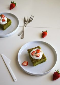Miss Hangrypants: Matcha Tres Leches Cake