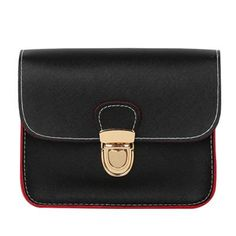 Small leather flap handbags clutches women crossbody shoulder evening bag
