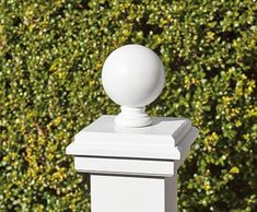 Add style and charm to your vinyl or wood fences and gates with decorative post caps & finials. Vinyl Pergola, Metal Pergola, Backyard Pergola, Pergola Shade, Pergola Kits, Patio Roof, Fresco, Fence Wall Design, Walpole Outdoors