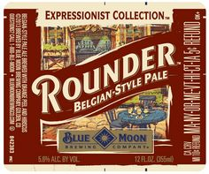 Rounder Belgian-Style Pale Ale - Blue Moon Brewing Company