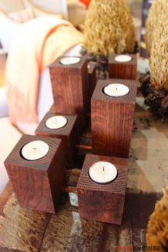 Boxwood Candle -Free DIY Plans | rogueengineer.com #BoxwoodCandle #DecorDIYplans