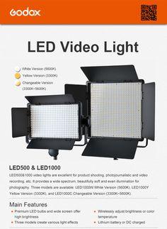 GODOX LED500 LED1000