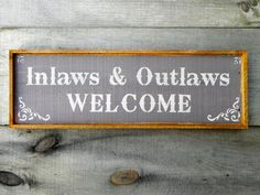 Hey, I found this really awesome Etsy listing at https://www.etsy.com/listing/177877621/welcome-sign-rustic-wood-signs-outdoor