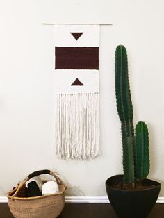 Woven Wall Hanging Hand Woven Wall Tapestries by MWTextileDesigns