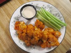 "Vegetarian and Cooking!: Buffalo ""Wing"" Style Cauliflower"