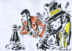 Lupin III and Jigen by Junichi Hayama | 羽山淳一 *