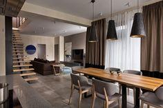 Contemporary Kiev Residence Promotes Harmony With Its Design | Décoration de la maison