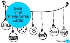 Blog Tintenelfe.de - Plotter Freebie für ein weihnachtliches Fenster #plotter…