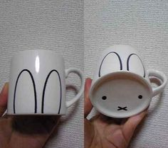 Every sip is a SQUEE with this easy bunny mug.