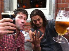 Sheppard & Ronan - Top two reason's for watching Stargate Atlantis.