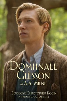 Now playing in Select Theaters. Get Tickets.  An innocent imagination inspires a father's ambitious dreams.  Domhnall Gleeson stars as A.A. Milne in Goodbye Christopher Robin. In theaters October 13.