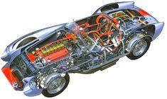 Ferrari TR 250 Testa Rossa - (SILODROME)